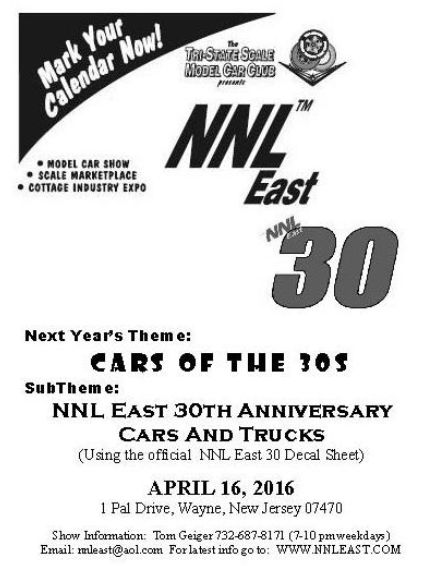 NNL EAST #30, Wayne New-Jersey,  USA , 16 avril 2016. Nnleast2016-vi