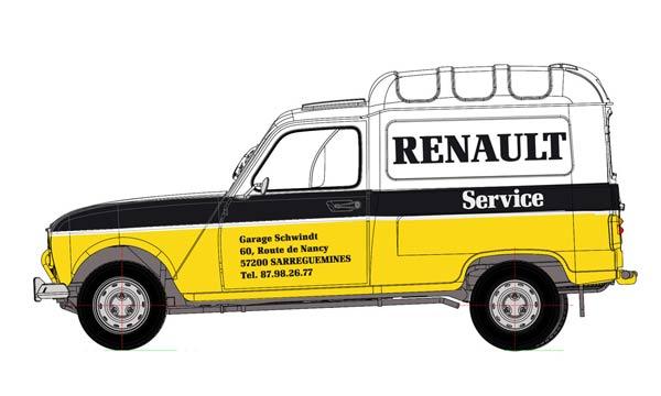 "Renault 4 fourgonnette ""Service Renault"" grosse avancé!  EBR25003_service-vi"