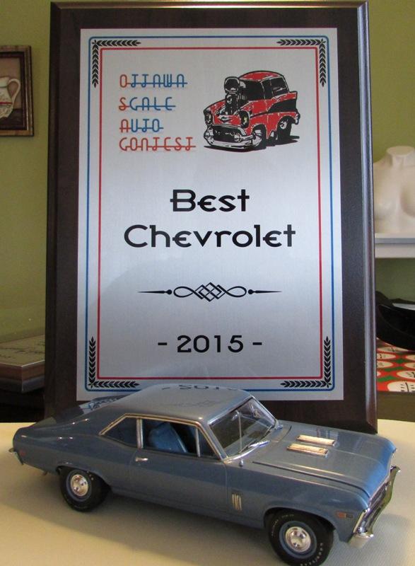 """Almonte On. 2015 """"Ottawa Scale auto Contest"""" #2  185-vi"""