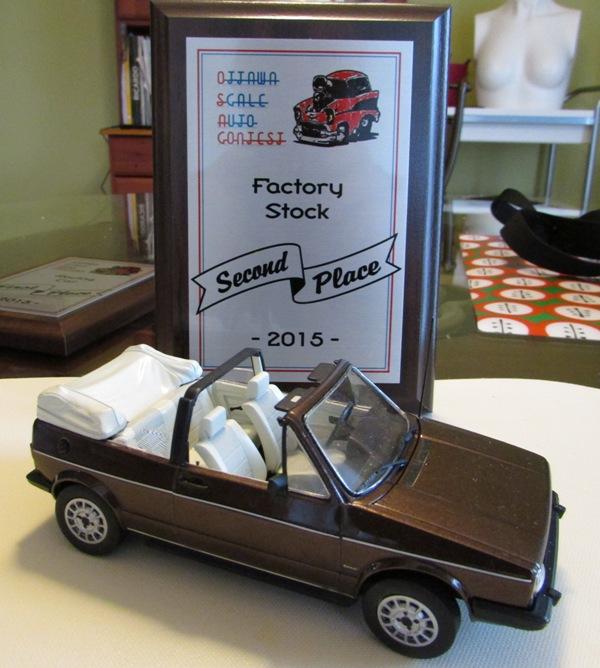 """Almonte On. 2015 """"Ottawa Scale auto Contest"""" #2  188-vi"""