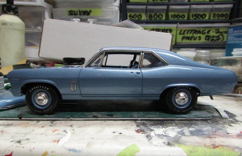 1969 Chevrolet Nova SS396 TERMINÉ - Page 2 0163-vi