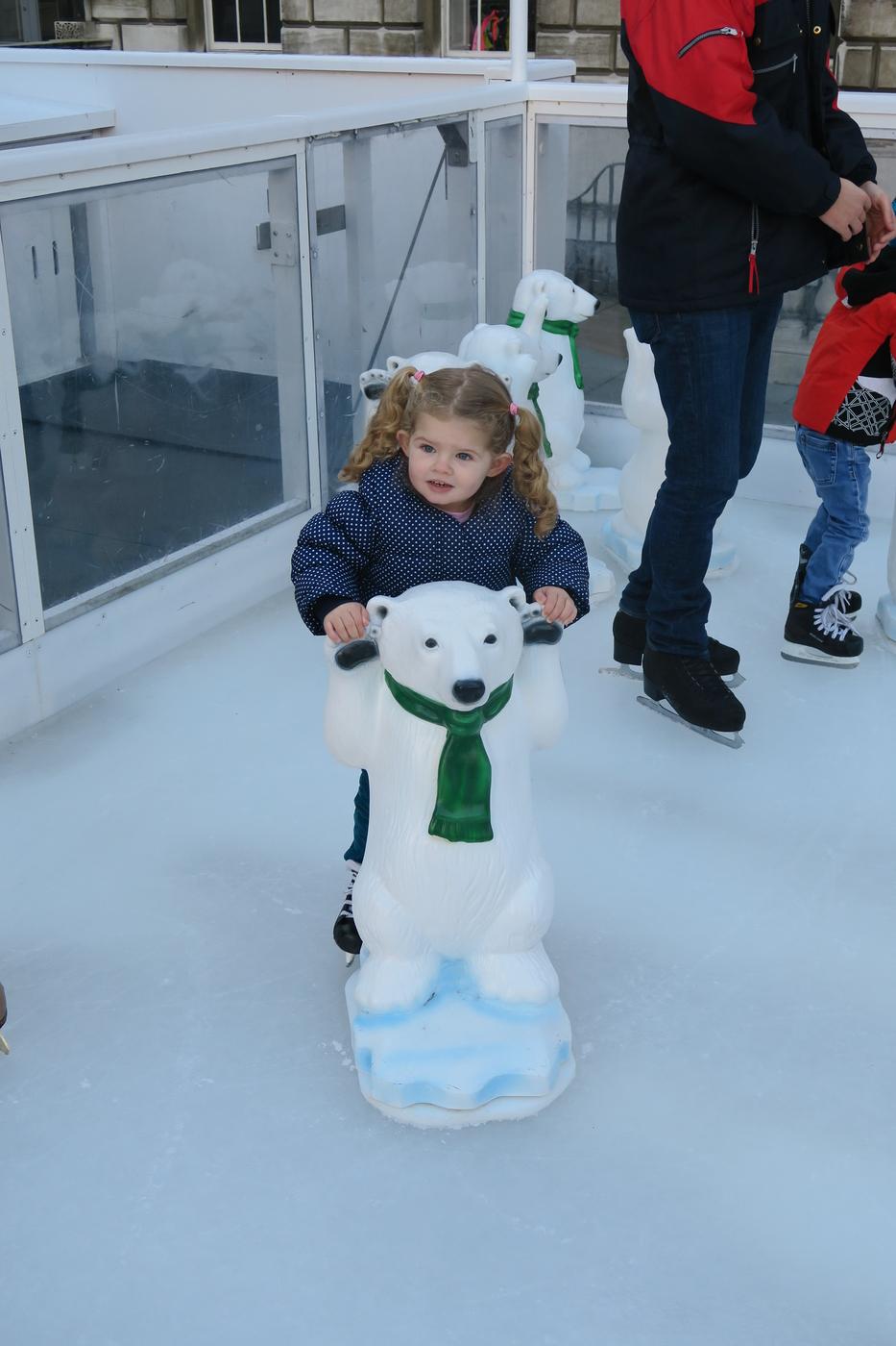Patinacao no Gelo em Londres