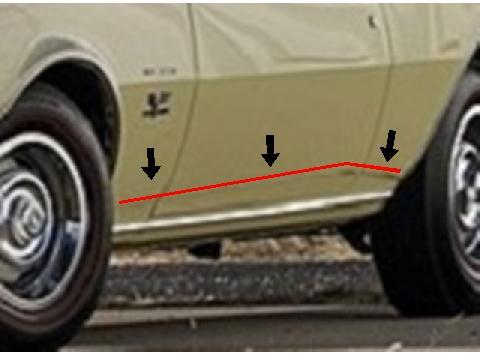 1967 Super Camaro 450 Yenko  Correctioncamaro-vi