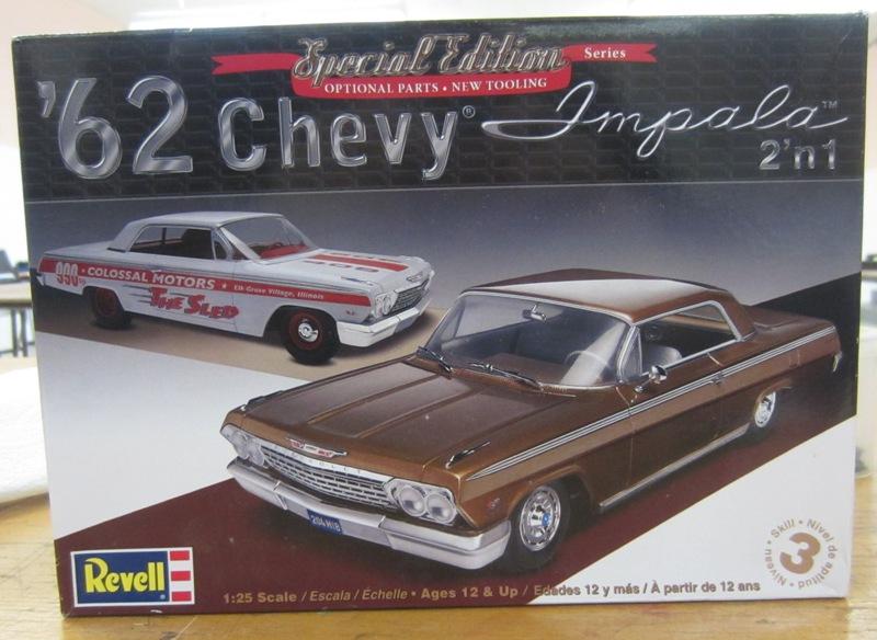 1962 Chevrolet Impala Revell terminé et les Beach boys 004a-vi