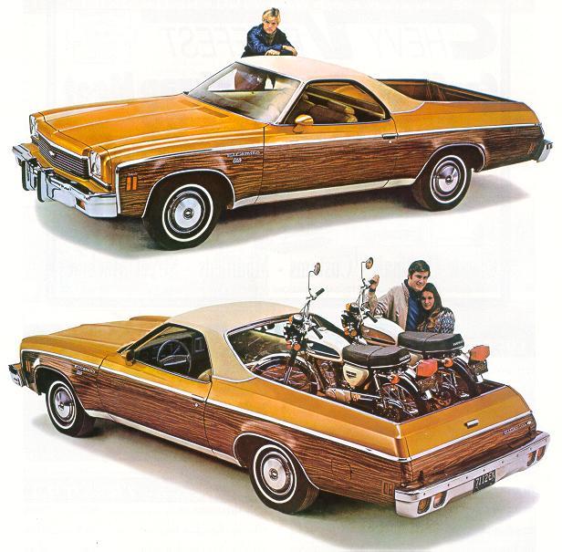 1973 Chevrolet El Camino, Kit résine de Motor City Casting. Ec_73-vi