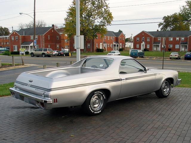 1973 Chevrolet El Camino, Kit résine de Motor City Casting. 1973ChevyElCaminoSS2-vi