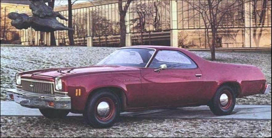 1973 Chevrolet El Camino, Kit résine de Motor City Casting. 1973_El_Camino-vi