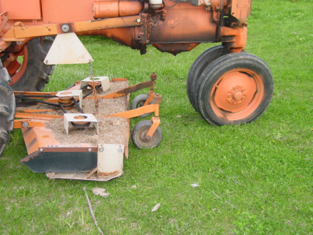 Belt Problems Woods L306 Mower Under A CA AllisChalmers