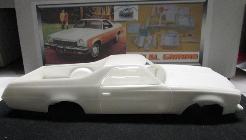 1973 Chevrolet El Camino, Kit résine de Motor City Casting. 058-vi