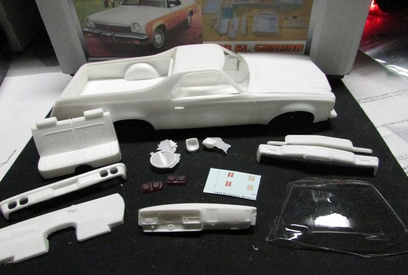 1973 Chevrolet El Camino, Kit résine de Motor City Casting. 054-vi