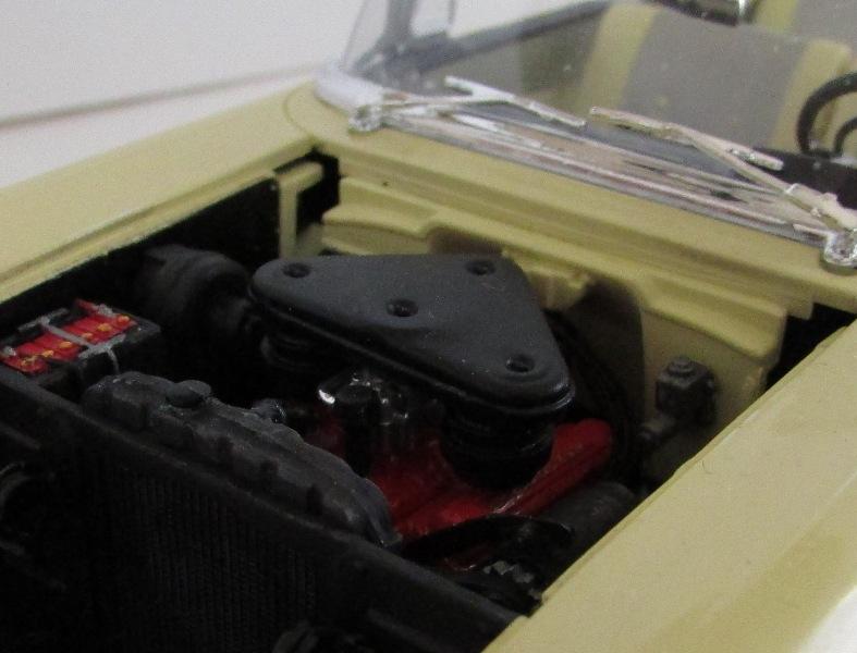 1957 Chevrolet Bel Air décapotable, Revell, terminé et Paul anka  053-vi