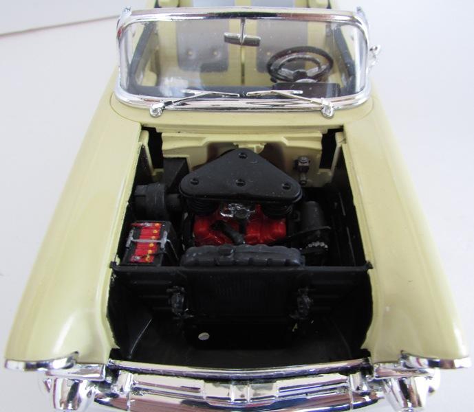1957 Chevrolet Bel Air décapotable, Revell, terminé et Paul anka  054-vi
