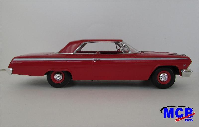 1962 Chevrolet Impala Revell terminé et les Beach boys 621A-vi