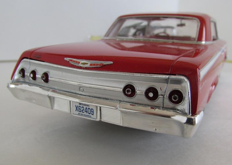 1962 Chevrolet Impala Revell terminé et les Beach boys 062-vi