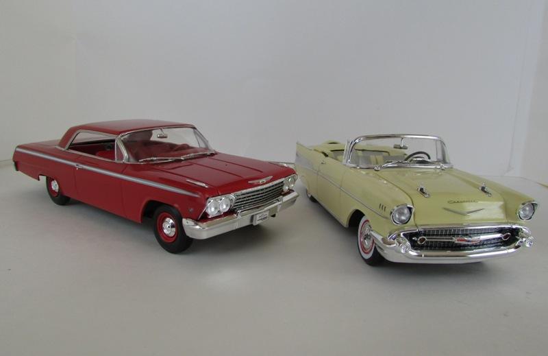 1962 Chevrolet Impala Revell terminé et les Beach boys 081-vi