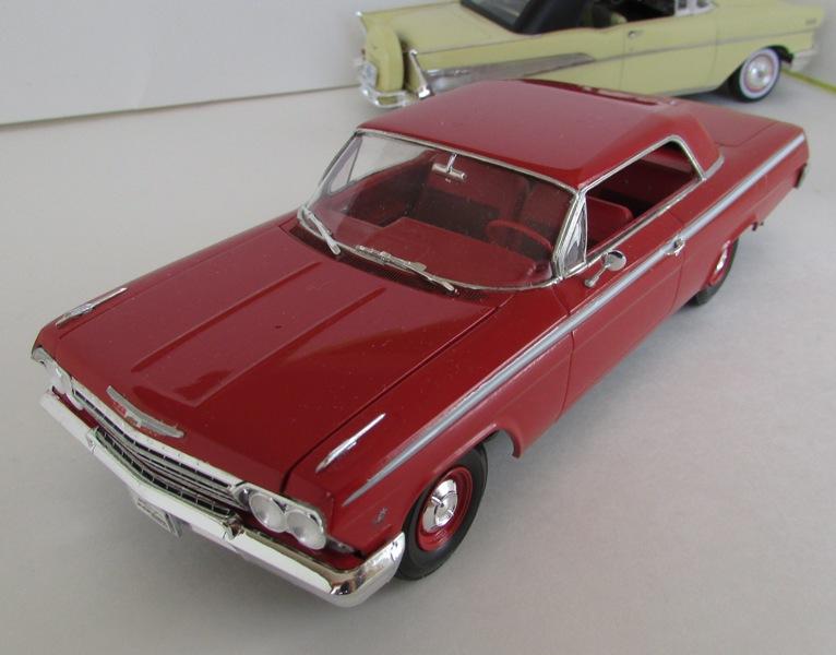 1962 Chevrolet Impala Revell terminé et les Beach boys 072-vi