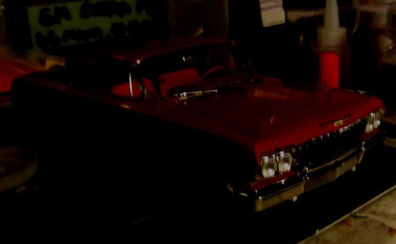 1962 Chevrolet Impala Revell terminé et les Beach boys 0026-vi