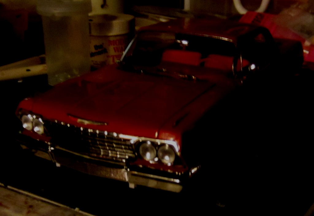 1962 Chevrolet Impala Revell terminé et les Beach boys 0016-vi