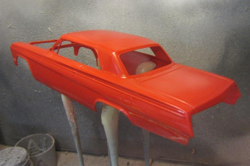 1962 Chevrolet Impala Revell 002-vi