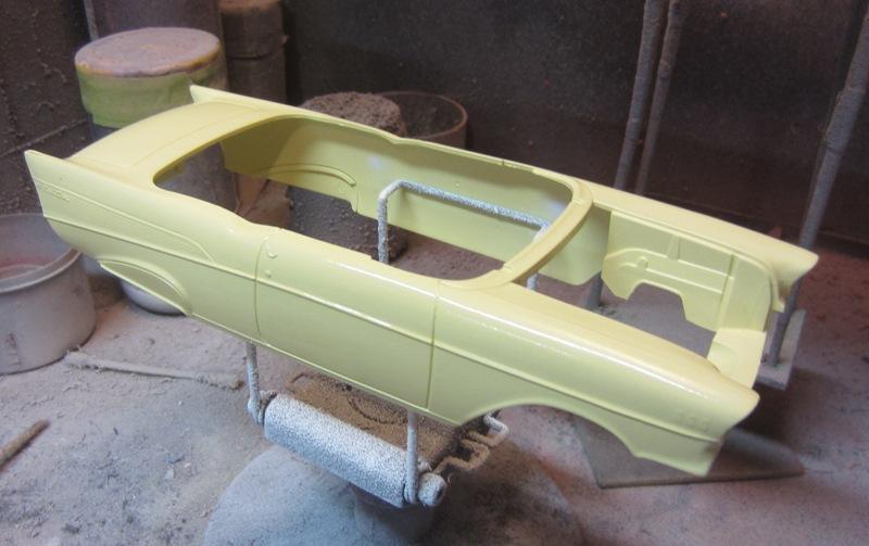 1957 Chevrolet Bel Air décapotable par Revell #85-4270 Prix Special à Granb 0053-vi