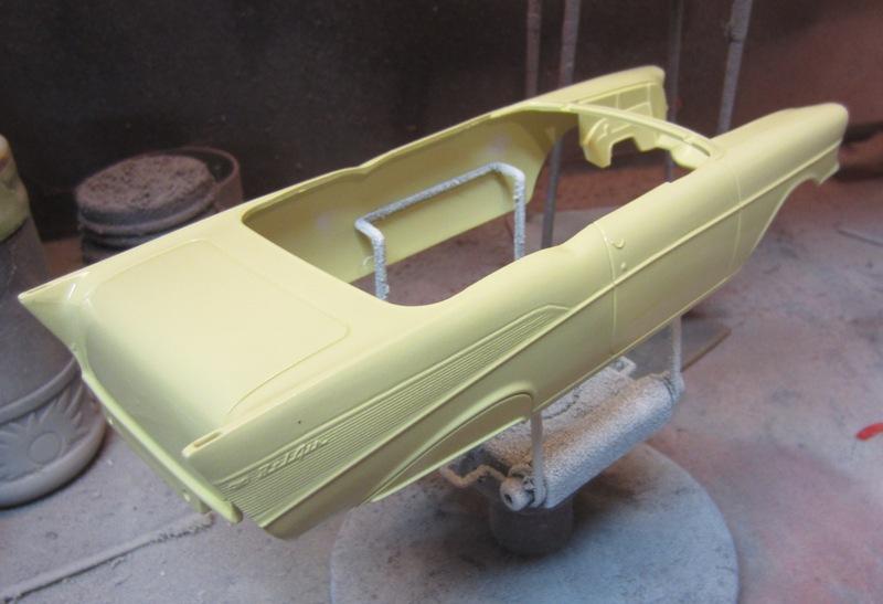 1957 Chevrolet Bel Air décapotable par Revell #85-4270 Prix Special à Granb 0063-vi