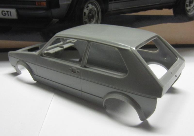 REVELL  Volkswagen Golf I  GTI et Cabriolet!  083-vi