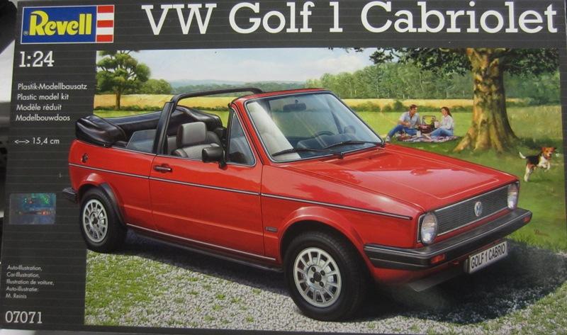 REVELL  Volkswagen Golf I  GTI et Cabriolet!  107-vi