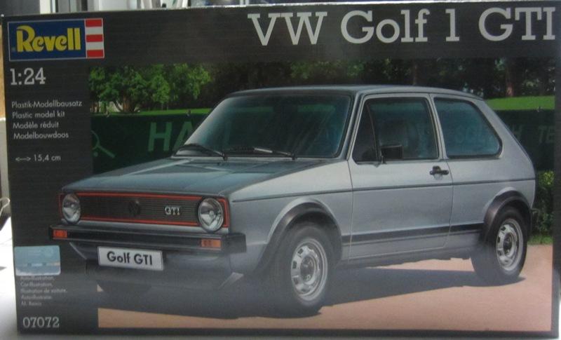 REVELL  Volkswagen Golf I  GTI et Cabriolet!  078-vi