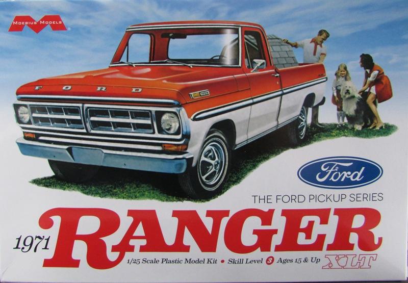 Moebius Ford F100 1969 et le Ford Ranger 1971 031-vi