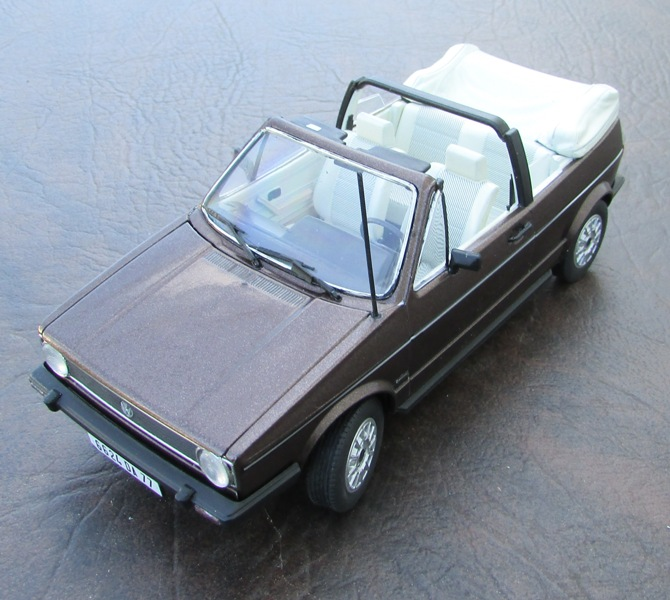 1979 VW Golf I GL Cabriolet. TERMINÉ 0075-vi