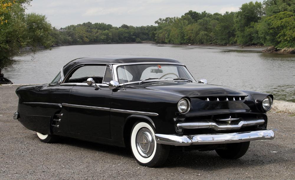 sold 1953 ford victoria historical custom custom car. Black Bedroom Furniture Sets. Home Design Ideas
