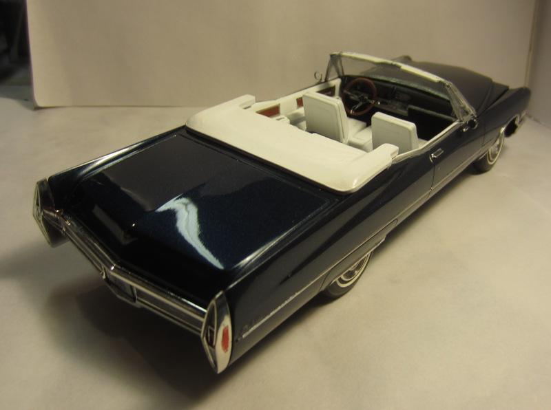 1968 Cadillac Deville décapotable, pour Denis, TERMINÉ,  027-vi