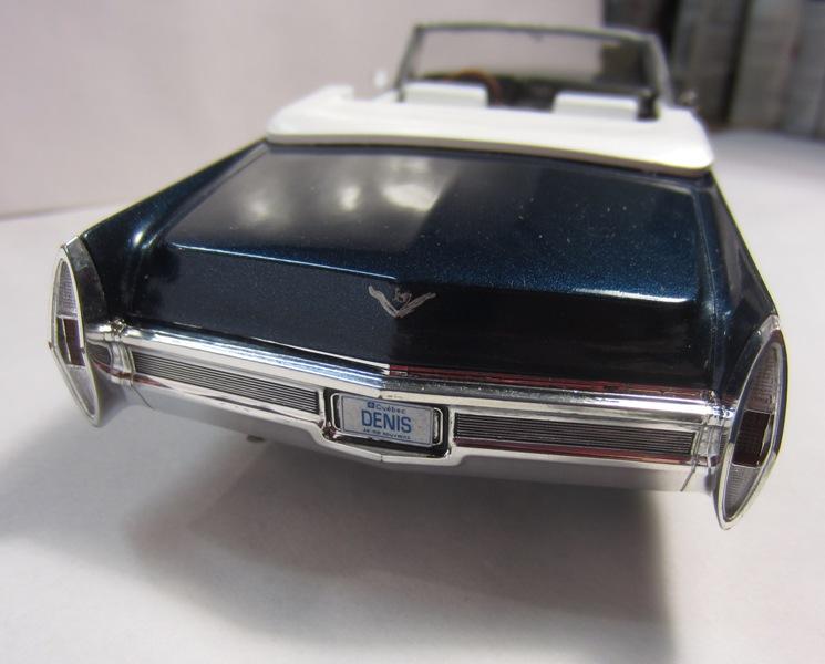 1968 Cadillac Deville décapotable, pour Denis, TERMINÉ,  026-vi