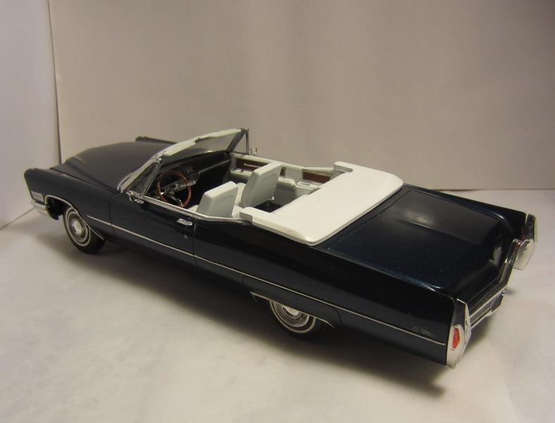 1968 Cadillac Deville décapotable, pour Denis, TERMINÉ,  26-vi