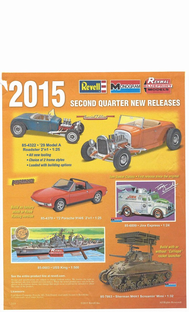 new model car kit releasesAll new Revell 29 Model A Roadster Highboy  Channeled