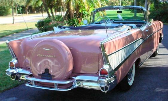 1957 Chevrolet Bel Air décapotable par Revell 1957belaircnvt052204-vi