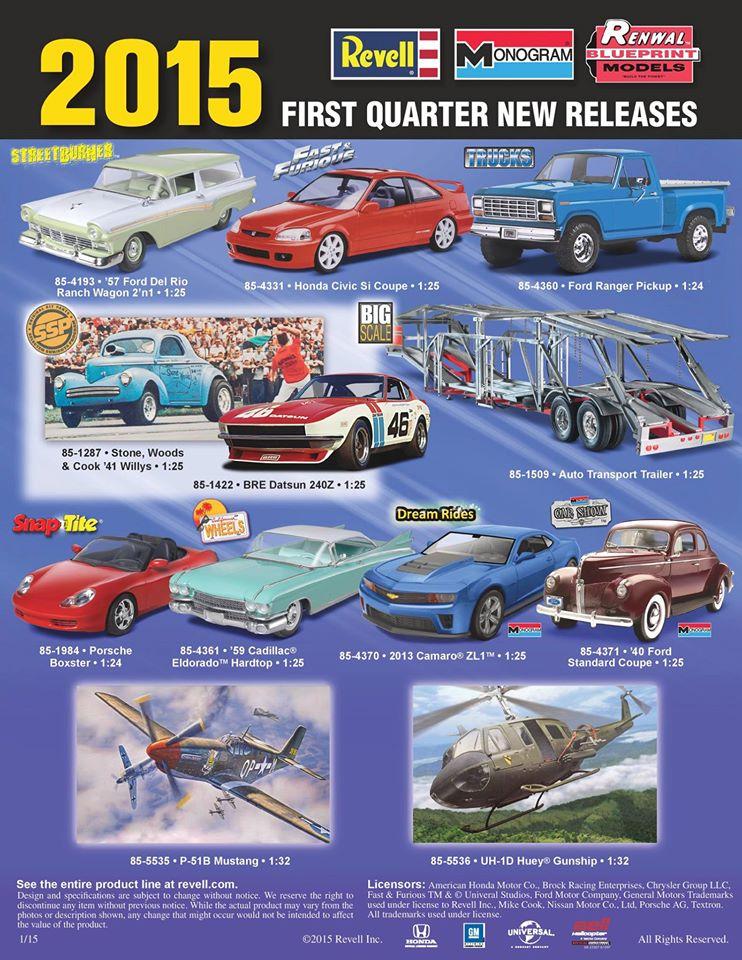 New Plastic Car Kit Releases