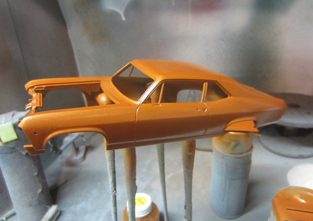 1971 chevrolet nova dition rallynova termin for Peinture orange brule