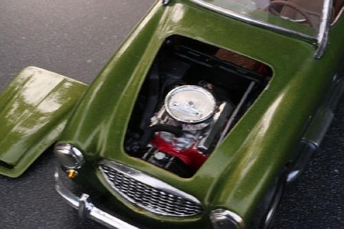 Ausitn Healy moteur Chevrolet AustinHealey327Chevy22-vi