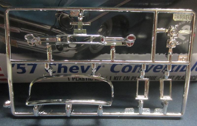 1957 Chevrolet Bel Air décapotable par Revell 083-vi