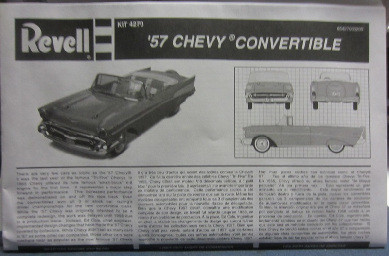 1957 Chevrolet Bel Air décapotable par Revell 085-vi
