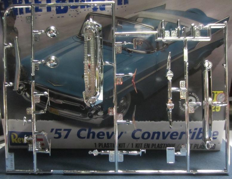 1957 Chevrolet Bel Air décapotable par Revell 081-vi