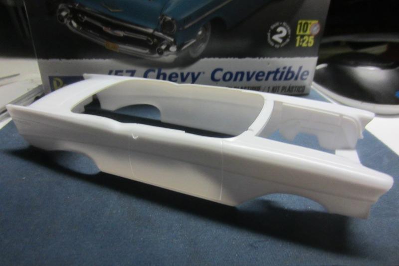 1957 Chevrolet Bel Air décapotable par Revell 066-vi
