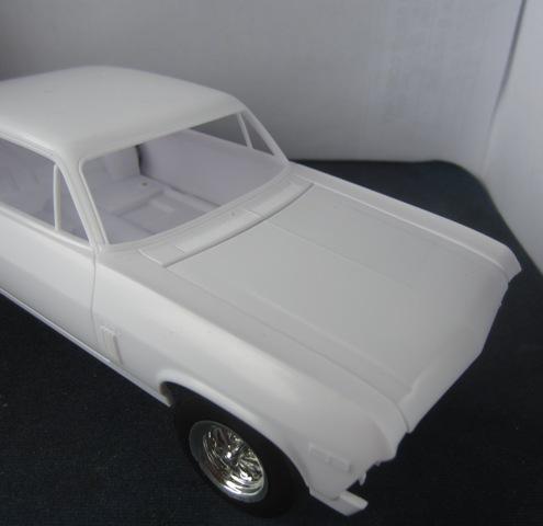 """1971 Chevrolet Nova """"RallyNova"""" terminé 124-vi"""