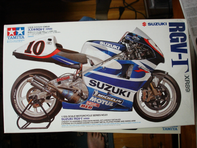 Community Build #19 Japanese Motorcycles RGV001-vi