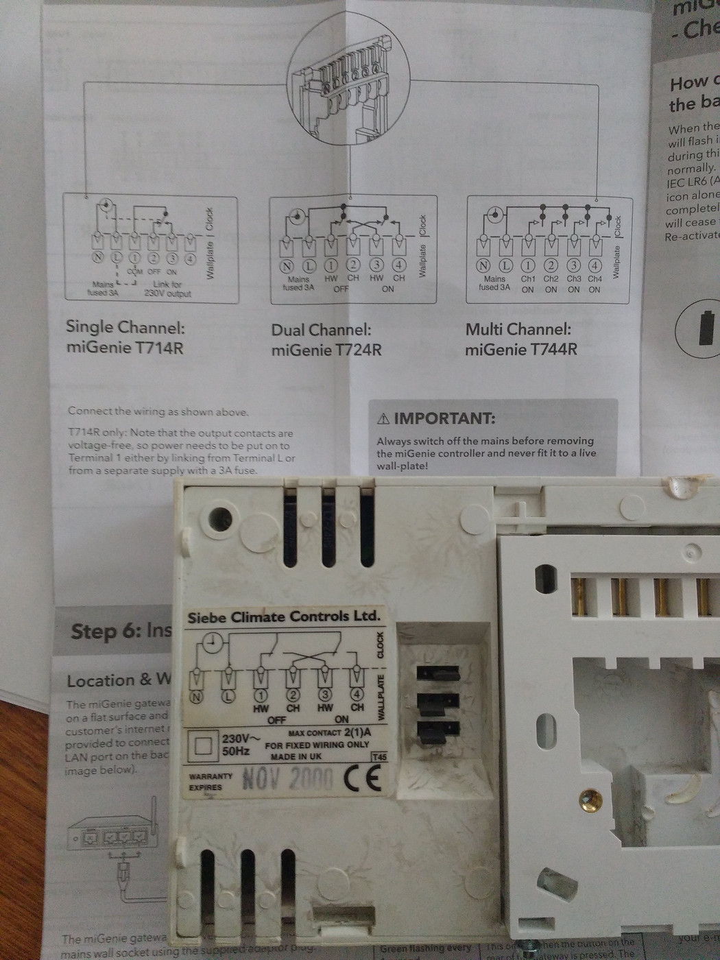Best Wifi Enabled Thermostat Page 75 Homes Gardens And Diy Wiring Diagram For Tado Any Ideas If These 2 Events Could Be Connected