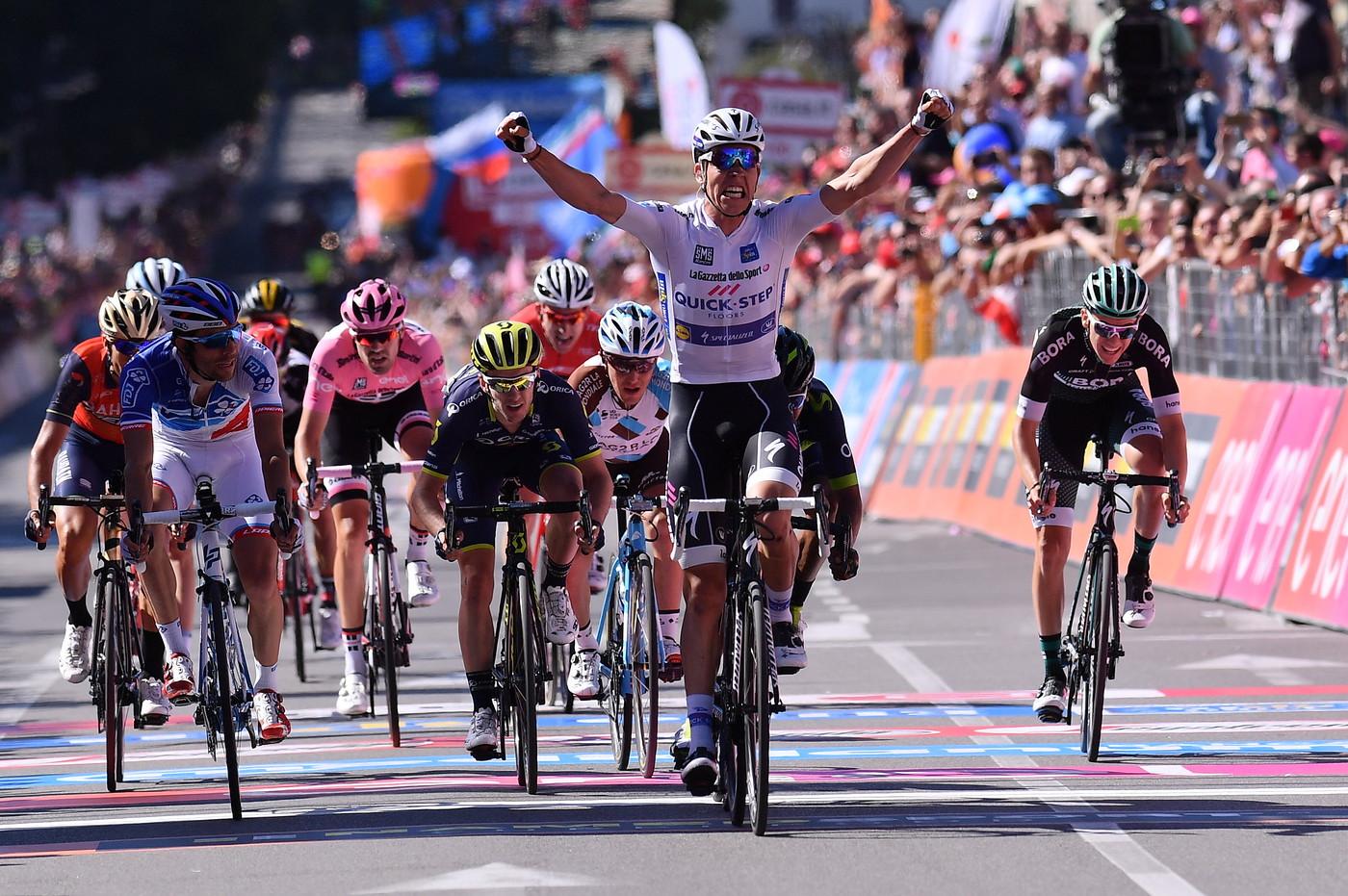 Jungels wins S15 Giro 2017