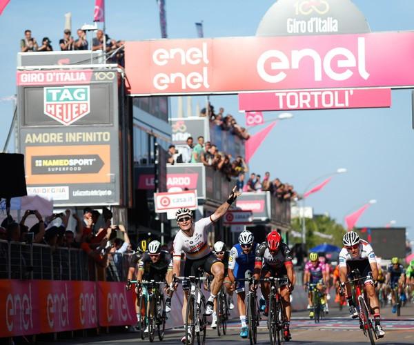 Greipel wins Stage 2 Giro 2017