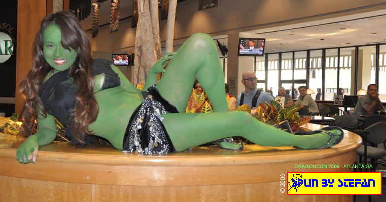 Vu - an Orion Slave girl from Star Trek