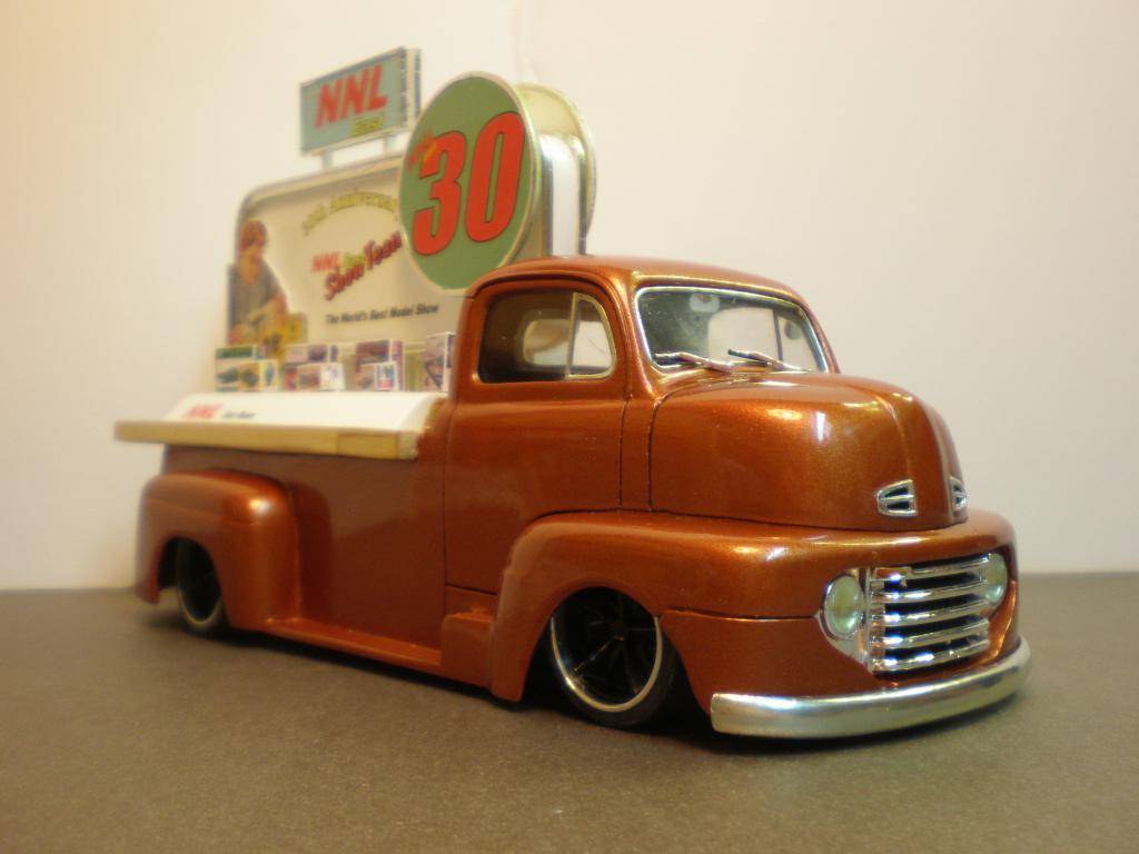 "FORD COE 1950 advertising ""NNL East 30th"" Ford50COE84-vi"